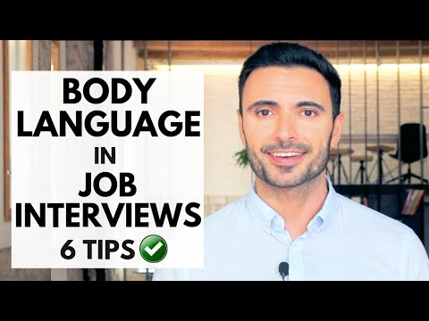 Body Language in Job Interviews - 6 Tips to Impress At Your Next Interview
