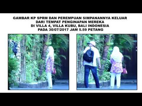 MALAYSIA:SCANDAL MACC CHIEF DZULKIFLI AHMAD IN BALI