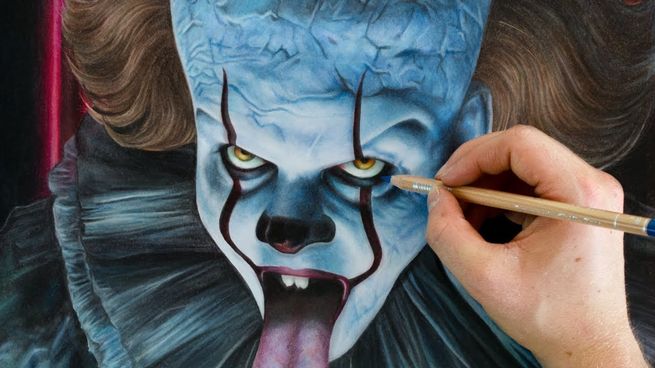 Drawing It Pennywise 2019 Youtube