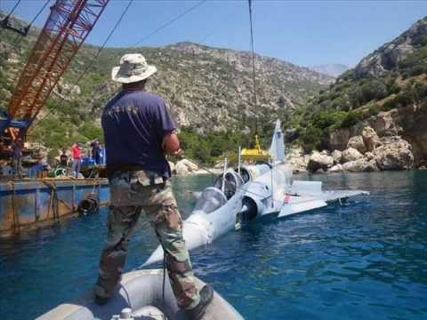 HAF Ανέλκυση Αεροσκάφους Mirage 2000