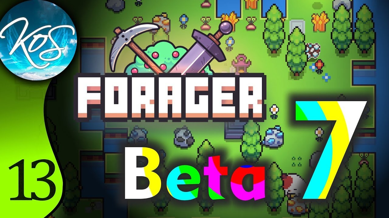 Forager Ep 13: PUZZLEY-DO - Beta 7! - Let's Play, Gameplay