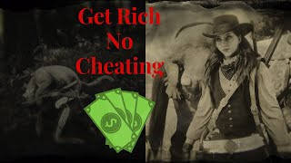 How to make money with cougars (no cheating) in red dead redemption 2 online