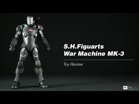 S.H.Figuarts War Machine MK-3 action figure toy review
