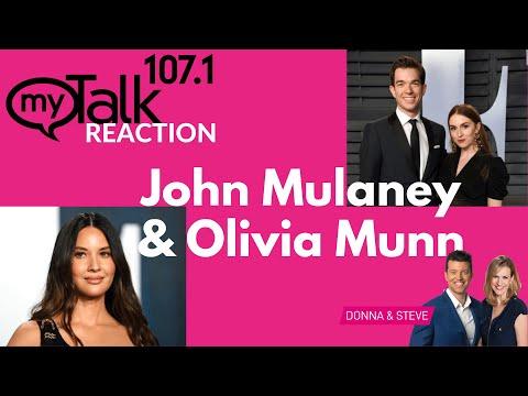 John Mulaney and Olivia Munn - myTalk Reaction