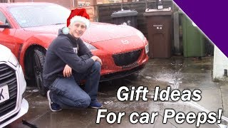 My top 5 Christmas gift ideas for car enthusiasts!