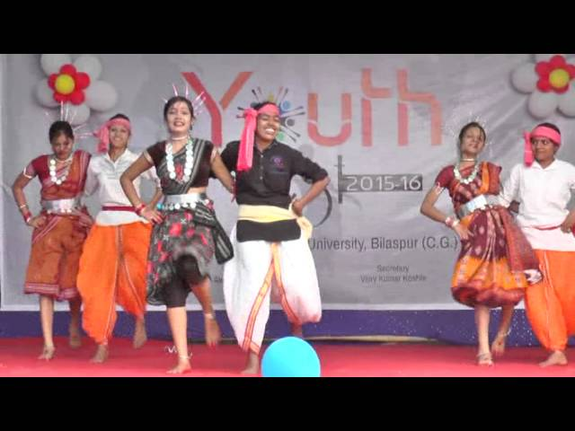 Bilaspur  University Youth festival 2016: Group Dance
