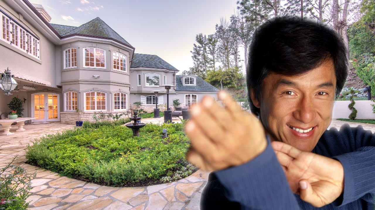 Jackie Chan S House In California Beverly Hills Youtube