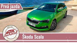 Škoda Scala 1.5 TSI TEST 2019: Český Golf na užšom podvozku