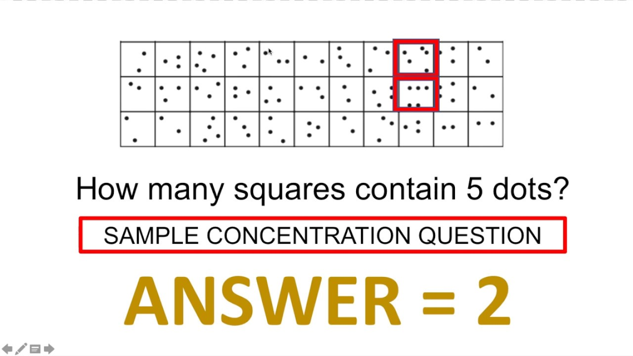Concentration Test Questions and Answers (IQ TEST) - YouTube