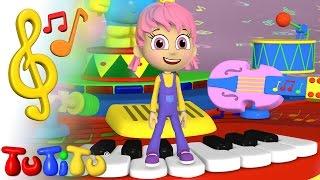 Canciones para niños en Ingles con TuTiTu | Mesa musical | Aprender inglés para niños y bebés