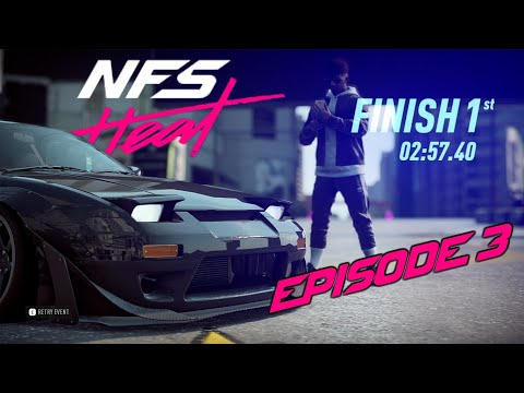 NEED FOR SPEED HEAT - Beating the Game First time - PC -1080/60fps |