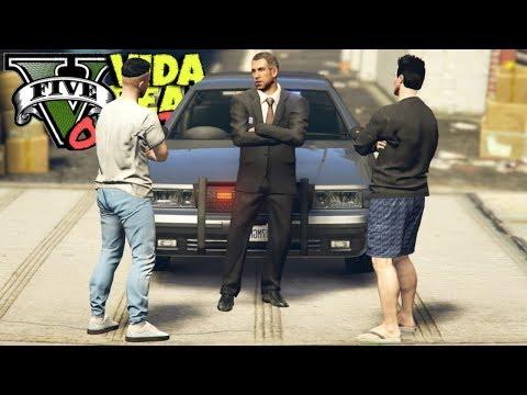 GTA V : VIDA REAL : CONVERSEI COM O COMANDANTE! SERÁ QUE VOU RECUPERAR MEU EMPREGO? : EP. 75