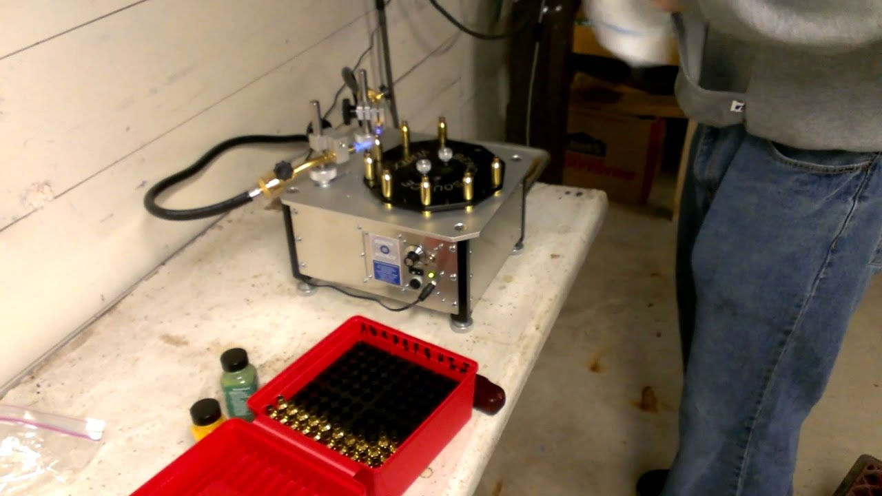 My New Bench Source Brass Annealing Machine Youtube