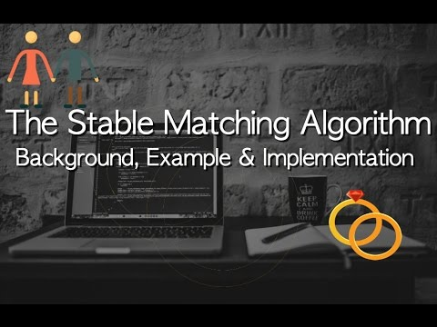 The Stable Matching Algorithm - Examples and Implementation