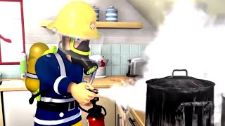 Strażak Sam bajki po polsku nowe odcinki | Ogień w kuchni Bajki dla dzieci