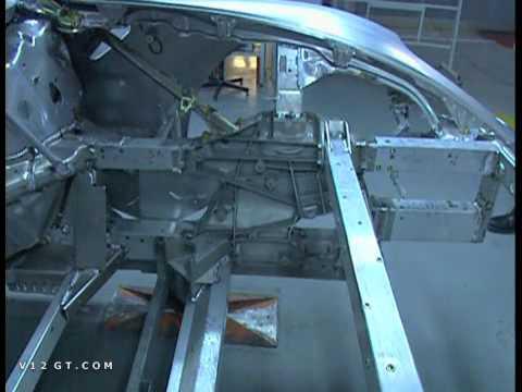 V12GT.com Ferrari 599 GTB Fiorano Chassis Space Frame