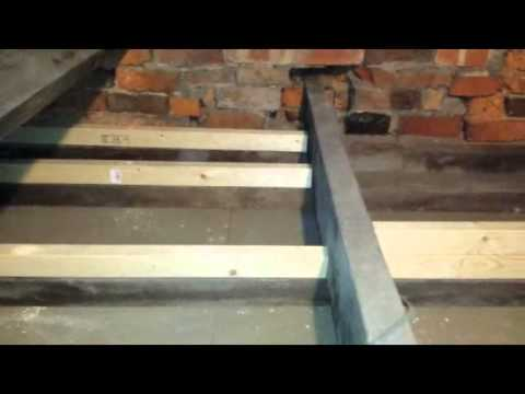 Fitting Insulation And Boarding A Loft Space With Small