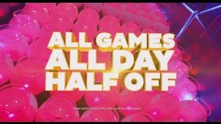 Dave & Buster's - Half Price Games Wednesday