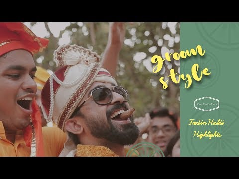 Craziest Haldi Video you would have ever seen - Fredin Haldi Highlights