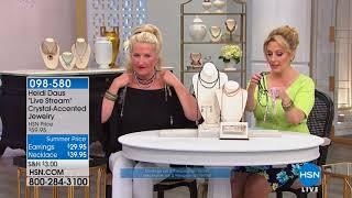 HSN | Heidi Daus Jewelry Designs Summer Deals 06.08.2018 - 08 PM