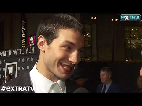 Ezra Miller Dishes on Rumors the Flash Steals the Spotlight in
