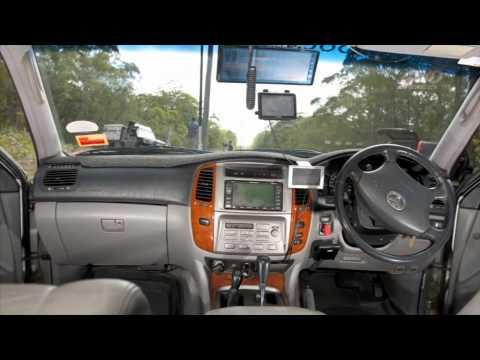 Toyota Land Cruiser 100 Series Custom Touring rig