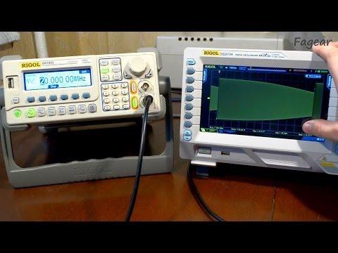 Обзор генератора сигналов Rigol DG1022 (DG1000)