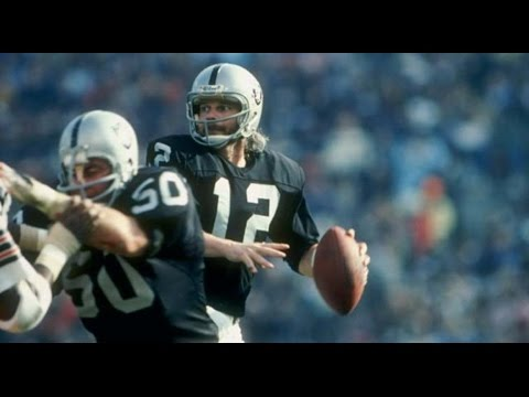 Ken Stabler Raiders QB Passes, Put Him In NFL Hall Of Fame