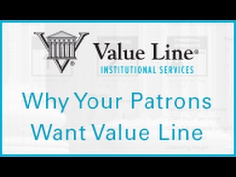 Why Your Patrons Want Value Line Digital
