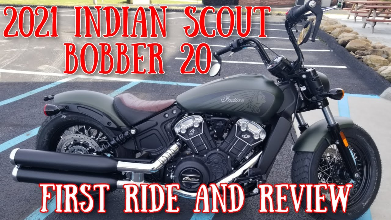 2021 Indian Scout Bobber 20 First Ride And Review Youtube [ 720 x 1280 Pixel ]