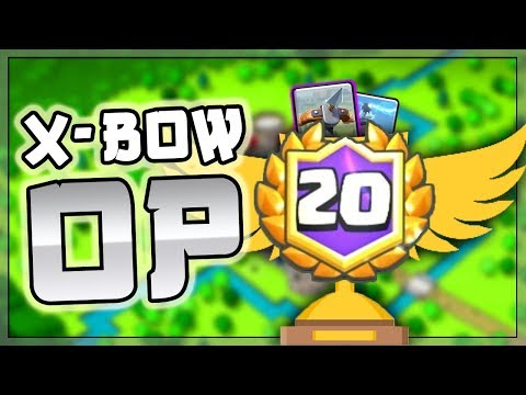 THE ULTIMATE 20 WIN X-BOW GUIDE!! || Beat ALL Matchups With This 20 Win X-bow Cycle Deck!