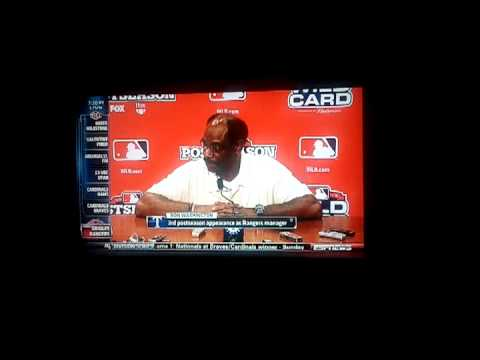 "Ron Washington ""Pitchin"""