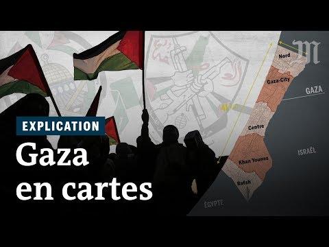 Comprendre la situation à Gaza en cartes