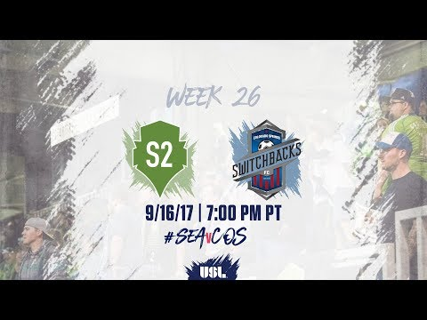 USL LIVE - Seattle Sounders FC 2 vs Colorado Springs Switchb