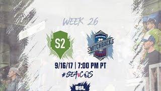 USL LIVE - Seattle Sounders FC 2 vs Colorado Springs Switchbacks FC 9/16/17 thumbnail