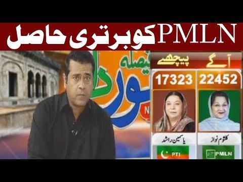 PTI Vs PMLN - PMLN Ko Bartry Hasil - Special Transmission - Express News