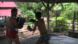 Fighters of Look Khok Rak Muay Thai Camp