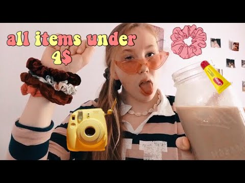 how to be a VSCO girl ON A BUDGET