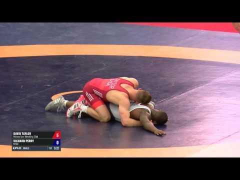 86 Finals - David Taylor (Nittany Lion WC) vs. Richard Perry (NYAC)