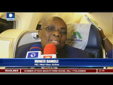 Med-View Airline Launches Lagos-Abuja-Dubai Service