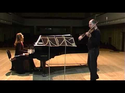 A New Violin-Piano Duo