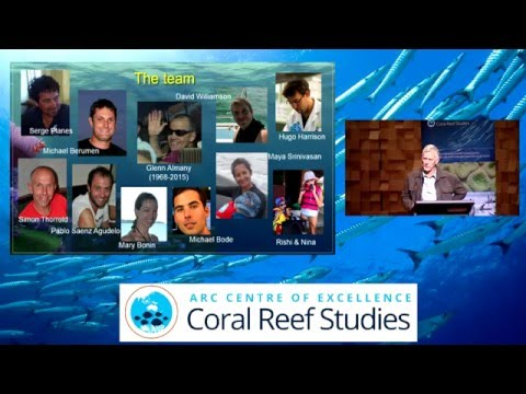 Geoff Jones - Unraveling the secrets of fish dispersal in coral reef seascapes