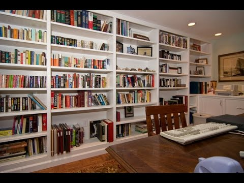 Ideas For Floor To Ceiling Bookshelves - YouTube