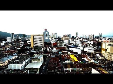 Aerial Stock Footage Penang Malaysia
