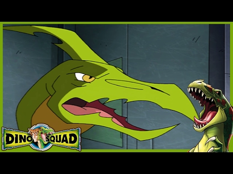 Dino Squad 124 - I Think I Can't, I Think I Can't | HD | Full Episode | Dinosaur Cartoon