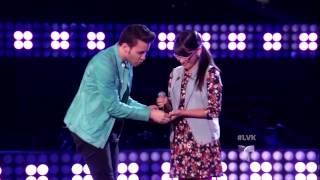 """Karina Tirado canta """"Con quien se queda el perro"""" en La Voz Kids(VIDEO)"""