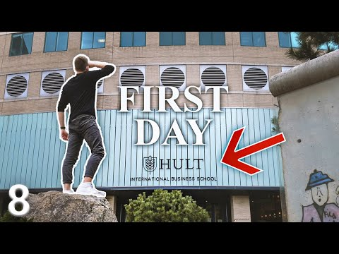 MY FIRST DAY AT HULT | A German Guy In America #8