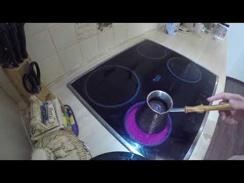 Как правильно варить кофе в турке!