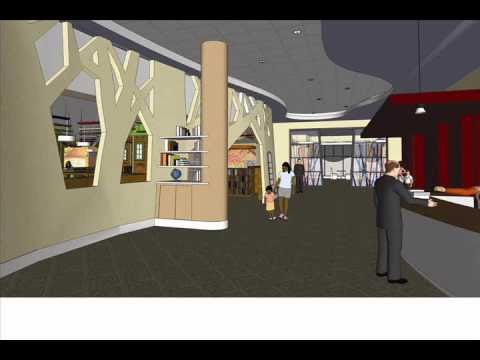 Main Library Renovation Project - DD Phase - Lafayette Public Library