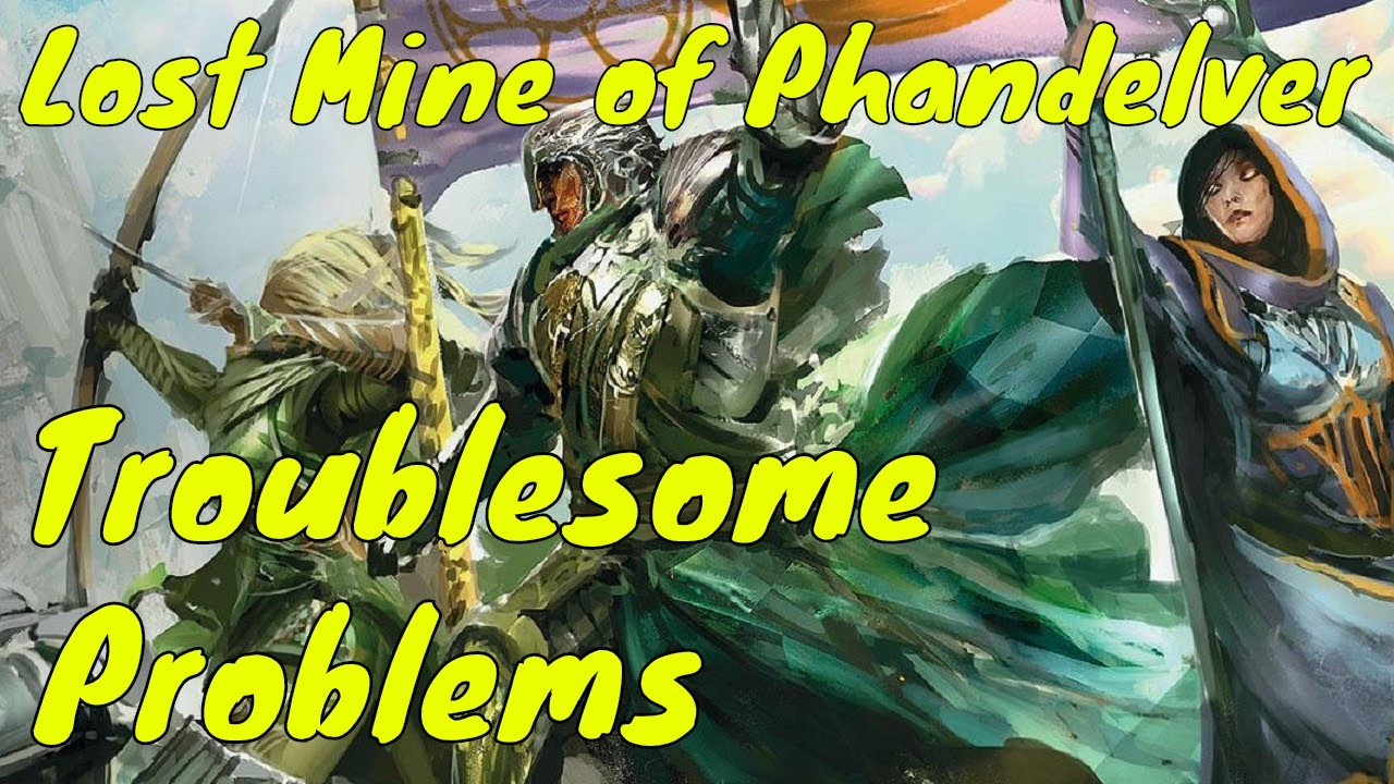 Troublesome Consequences from Lost Mine of Phandelver (DM Guide)